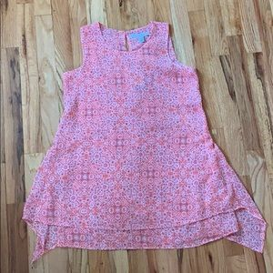 NWT Patterned Peach Tunic - Size XS